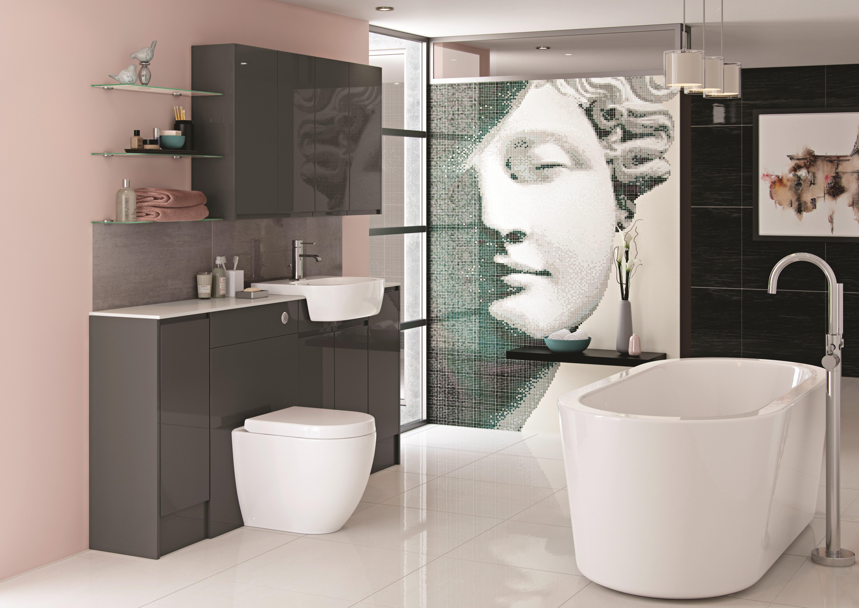 Fresco Lava Grey Gloss