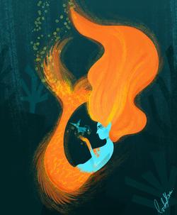 MERMAID'S ON FIRE