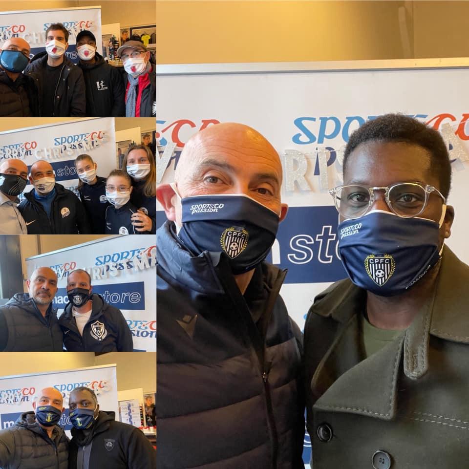 Sublimation et masques de protection COVID : SportsCo Passion solidaire !