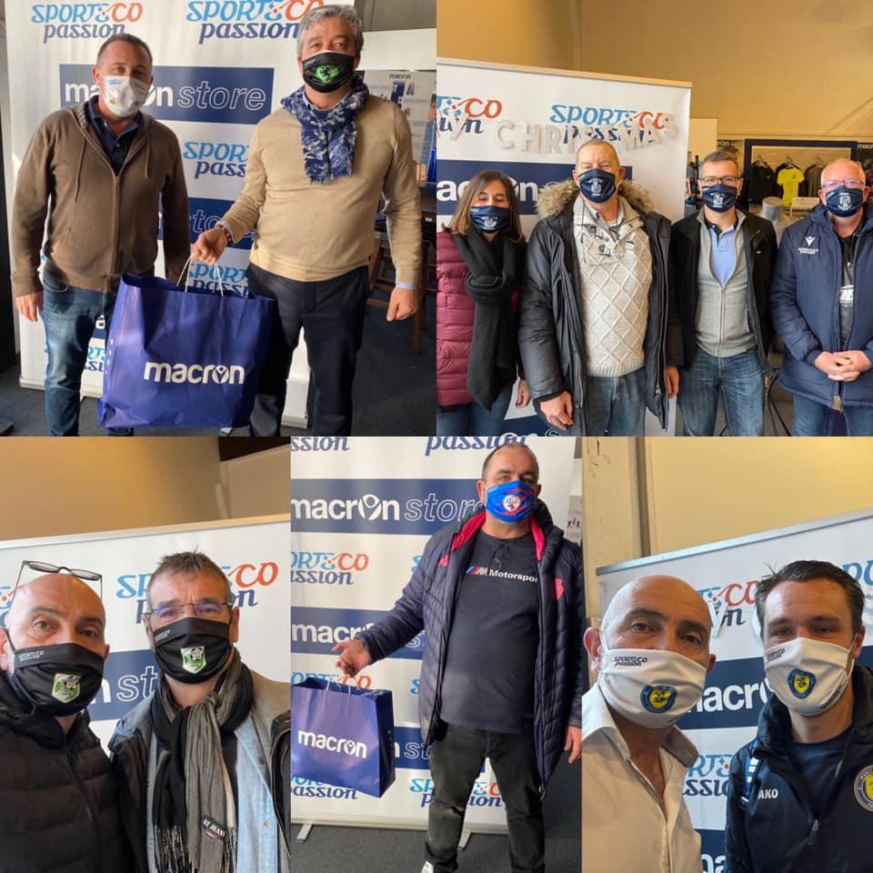 Masques de protection COVID réalisés par sublimation : le geste solidaire de SportsCo Passion