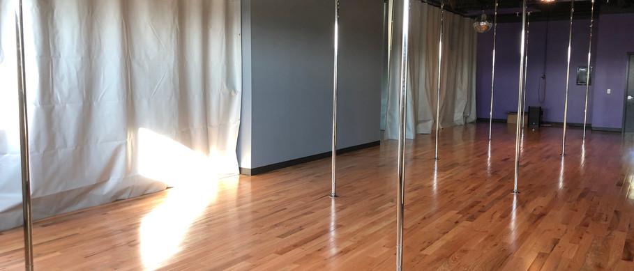 Our pole studio!