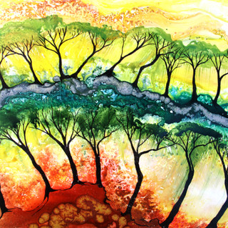 Tree line Sold