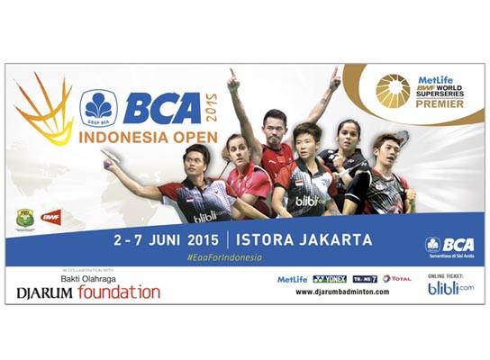 INDONESIAN OPEN 2015