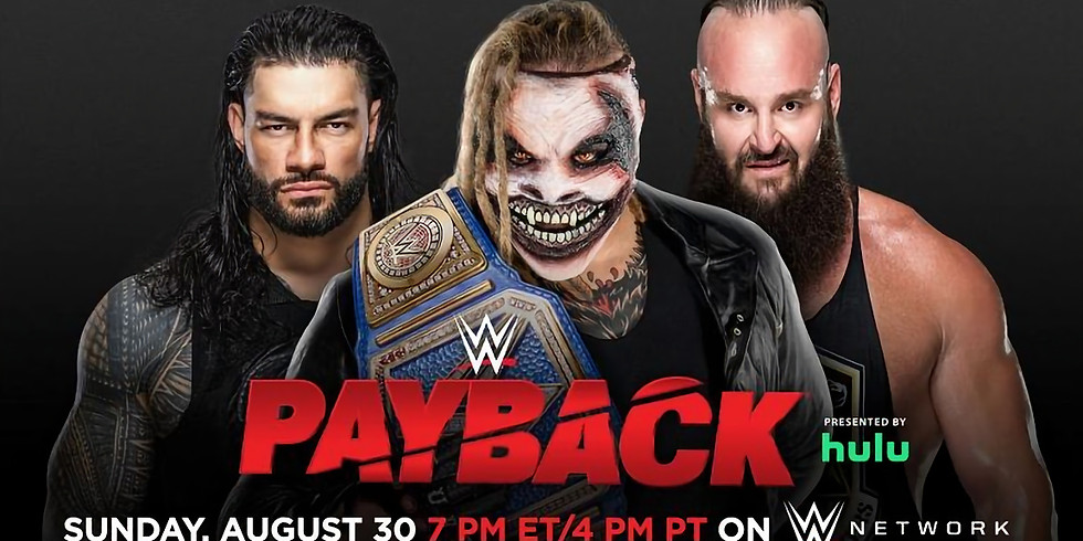 WWE Payback 2020 - Zoom Watch Party