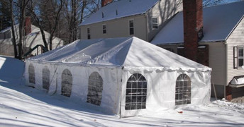 Frame tent in the snow.JPG