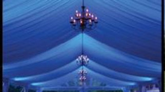 Lined Frame & Chandeliers