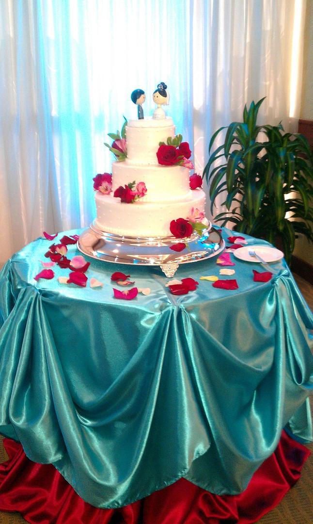 Cake Table Draping