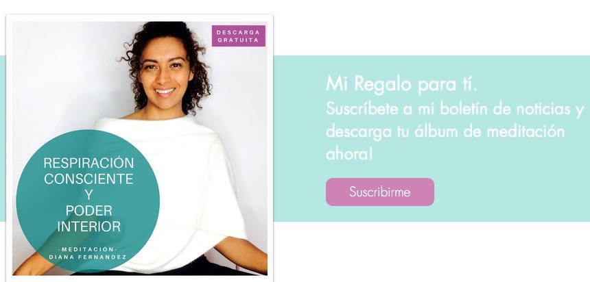 Meditación guiada | Respiración Consciente | Poder Interior | www.diana-fernandez.com | Diana Fernandez | Coach Espiritual | meditación | aprender a meditar