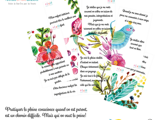 NEW! Les Cartes du Parent Conscient