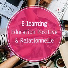 Formation professionnelle en elearning en Education Positive