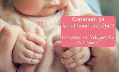 Comment ça fonctionne un bébé ? L'Essentiel en 6 points, que tout le monde devrait savoir...