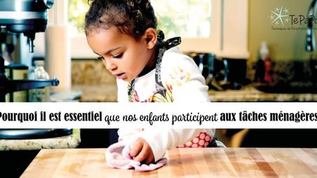 Pourquoi il est essentiel que nos enfants participent aux tâches ménagères! 9 Règles pour y arriver!