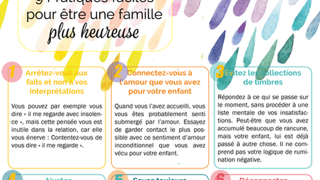 Parentalité: 9 pratiques pour être une famille plus heureuse