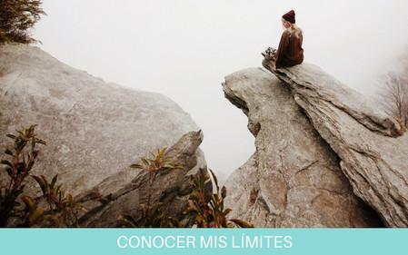 CONOCER MIS LIMITES   PONER LIMITES SALUDABLES