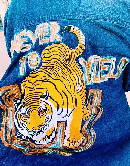 """""""Never to Yield"""" Jacket"""