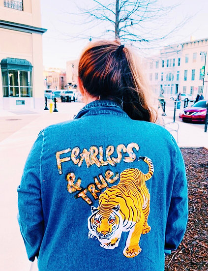"""""""Fearless and True"""" Jacket"""