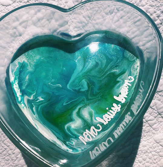 """Heart of the Ocean"" Trinket Dish"