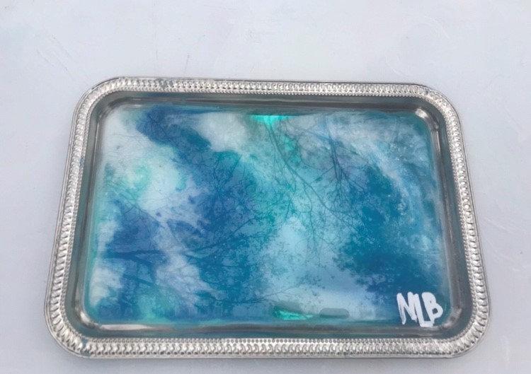 """Rush"" Ocean tray"
