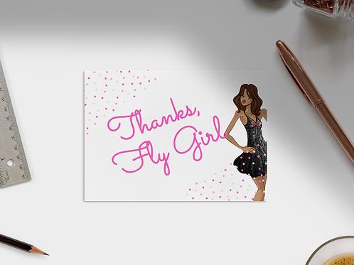 Thanks, Fly Girl Card