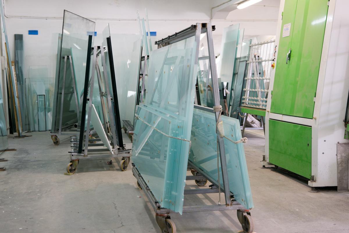 Vetreria Frau - lastre di vetro