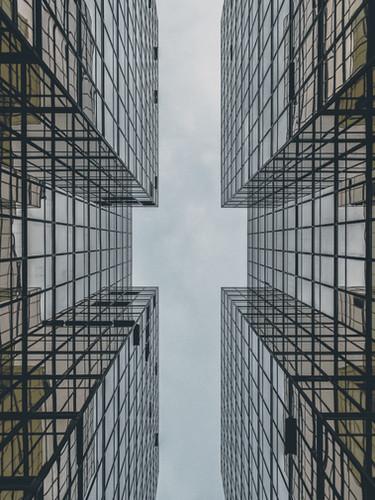 Абстрактный Стеклянное здание