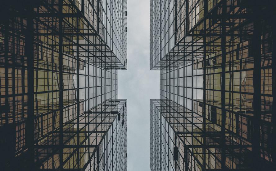 Résumé du bâtiment en verre