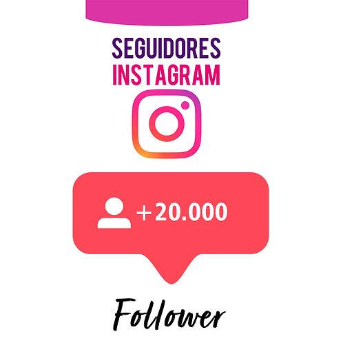 20.000 Novos Seguidores