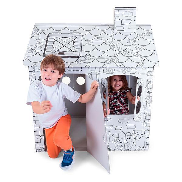 casinha-de-papelao-para-crianças-brincar