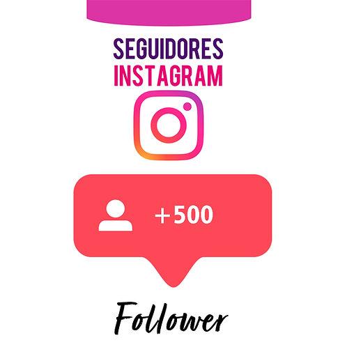 500 Novos Seguidores