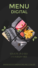 nosso menu digital on-line para restaura