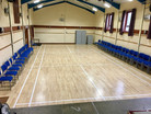 Hall Cleaned and Open Again