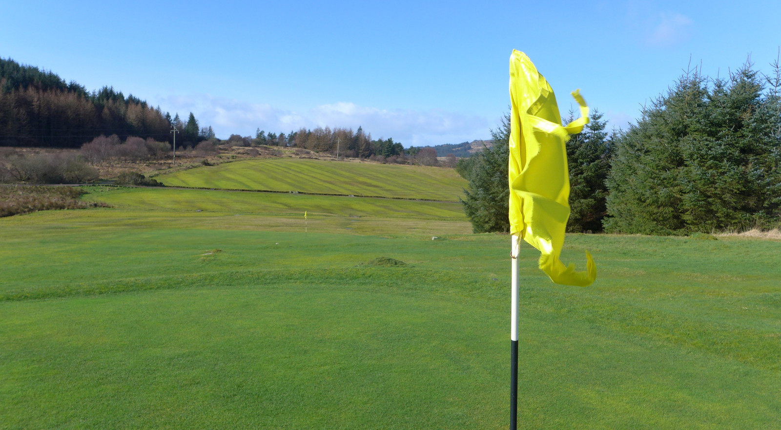 Flag on the 8th