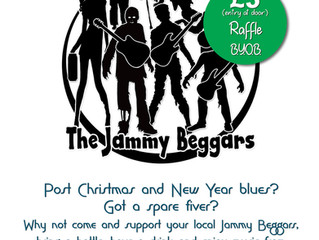 Jammy Beggars to Blow away Winter Blues