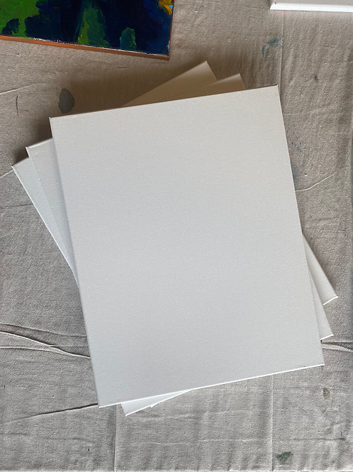 3 X Extra Blank Canvases
