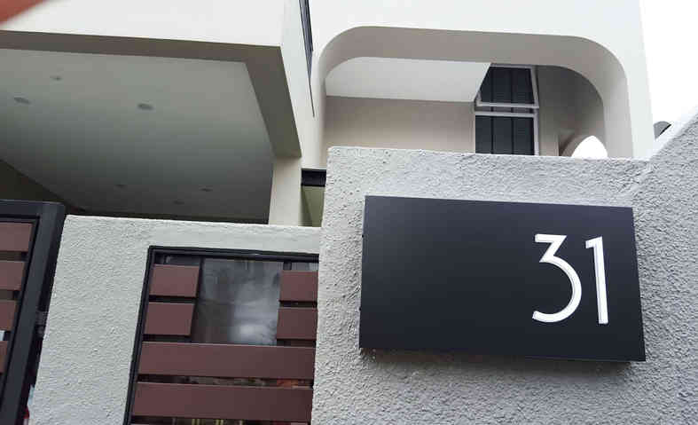 Residential Signage in Singapore