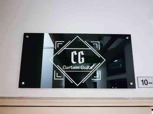 Acrylic Panel Signage
