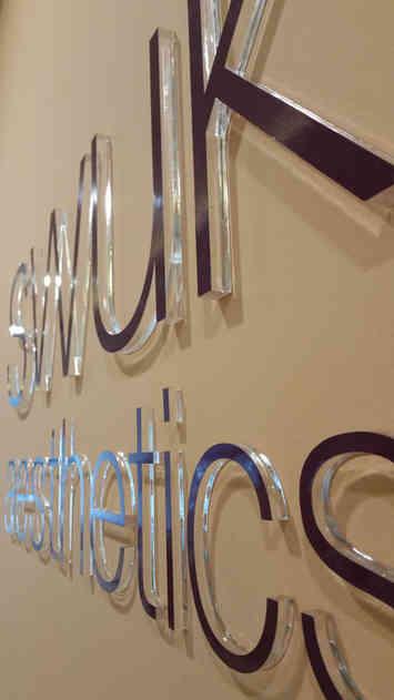 Laser Cut 3D Acrylic Sign