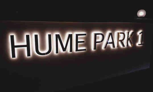LED Back-lit Signage