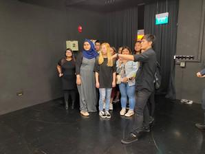 Students' backstage tour 2020