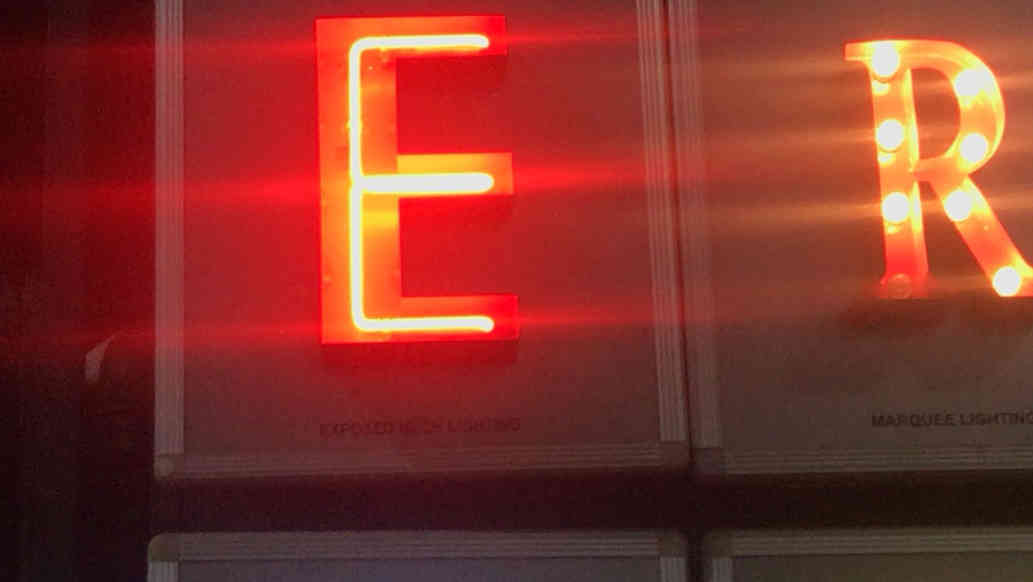 Traditional Glass & LED Neon Signs