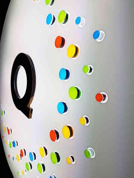 LED Metal Signage w/ Acrylic pop-ups