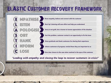 ELASTIC Customer Recovery Framework