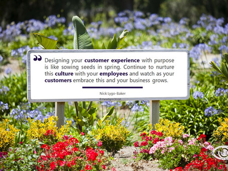 Purposeful CX is like sewing the seeds of success!