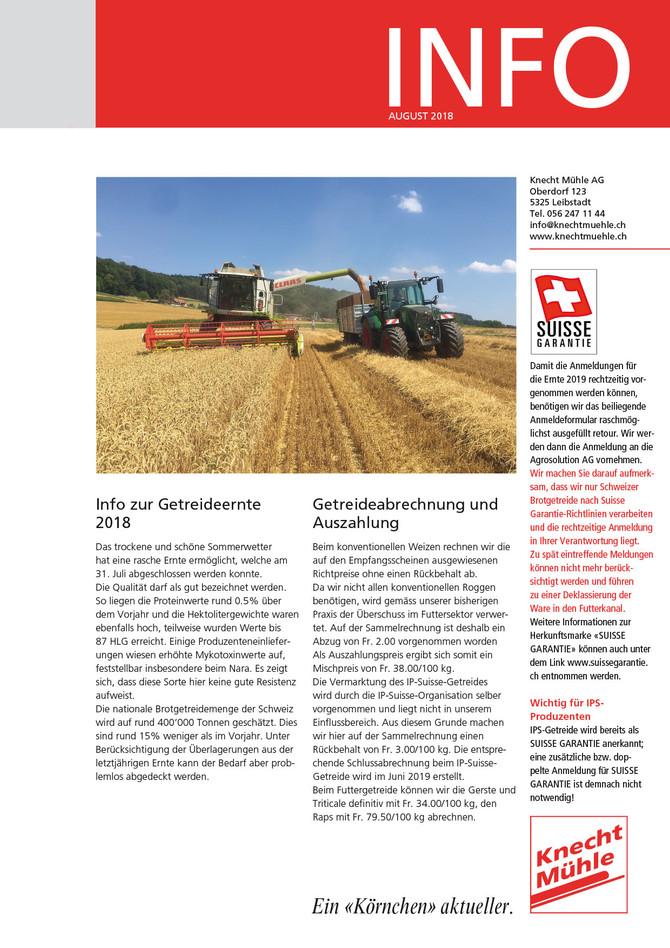 Knecht Info August 2018
