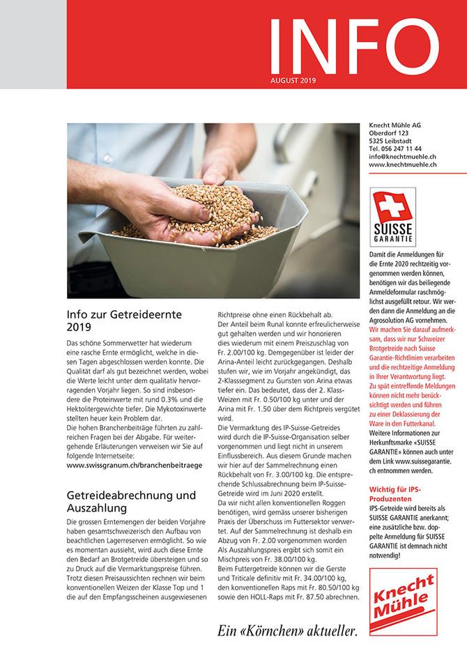 Knecht-Info August 2019