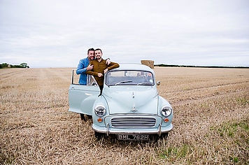 Morrs Minor Hire - Classic Wedding Car Hire