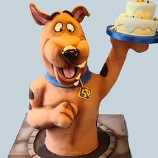 Large Scooby Doo Cake