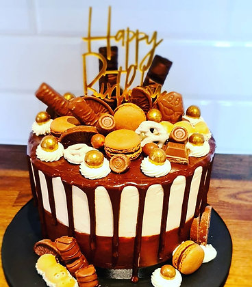 Celebration Drip Cake - Enquire to order