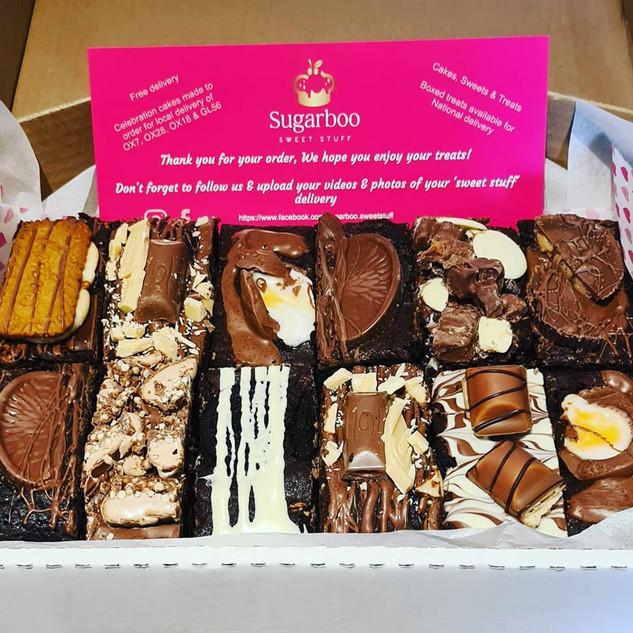 Sugarboo BIG Brownie Box