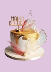 Pink Sail Cake